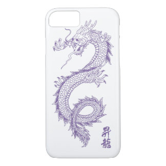 iPhone 7 lila Drache-Telefon-Kasten iPhone 8/7 Hülle