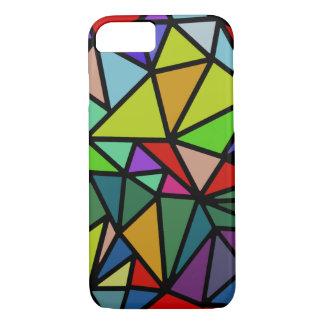 iPhone 7 mit bunten geometrischen Dreiecken iPhone 8/7 Hülle