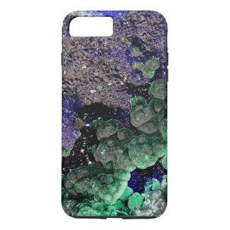 iPhone 7 Plusfall: Azurblaues Malachit iPhone 8 Plus/7 Plus Hülle