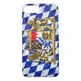 "iPhone 7 Plusfall ""Flagge von Bayern "" iPhone 8/7 Hülle"