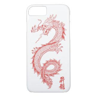 iPhone 7 Rot-Drache-Telefon-Kasten iPhone 8/7 Hülle
