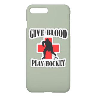 iPhone 7 und 6S plus geben Blut-Spiel-Hockey-Fall iPhone 8 Plus/7 Plus Hülle