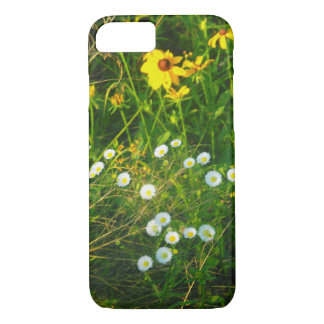 iPhone 7 weiße und gelbe Blumen Falles iPhone 8/7 Hülle