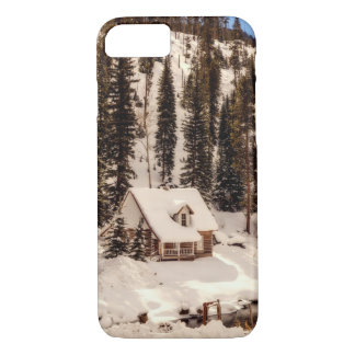 iPhone 8 Fall - Haus im Schnee iPhone 8/7 Hülle