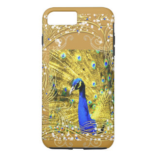 iPhone 8 ODER CHANGE-EXTRAVAGANT PFAU iPhone 8 Plus/7 Plus Hülle