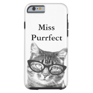iPhone Abdeckung mit lustigem Katzen-Foto und Tough iPhone 6 Hülle