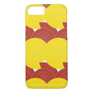 iPhone abstrakter Rubin/Gold Buchstabe-S iPhone 8/7 Hülle