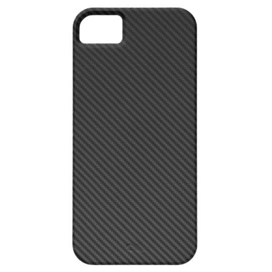 Iphone carbon Design Case black iPhone 5 Cover