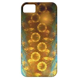iPhone Case-Mate kaum dort: Fraktal-Sonnenblumen Schutzhülle Fürs iPhone 5
