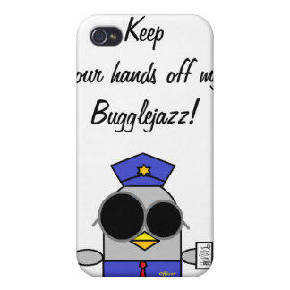 IPhone Fall behalten Ihre Hände weg von meinem bug iPhone 4/4S Case