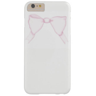 iPhone Fall-einfacher rosa Bogen-Girly weibliches Barely There iPhone 6 Plus Hülle