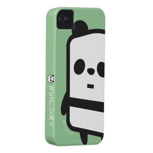 iPhone Fall - Kasten-Panda iPhone 4 Hülle