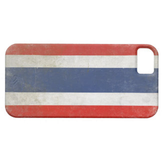 iPhone Fall mit beunruhigter Thailand-Flagge Etui Fürs iPhone 5