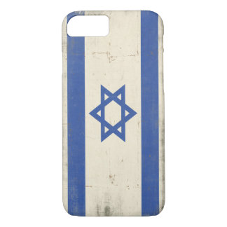 iPhone Fall mit cooler beunruhigter Israel-Flagge iPhone 8/7 Hülle