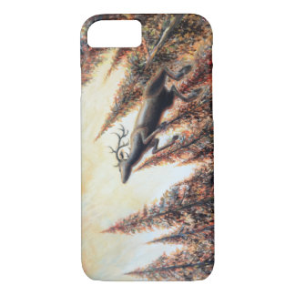iPhone Fall - Springen der Rotwild iPhone 8/7 Hülle