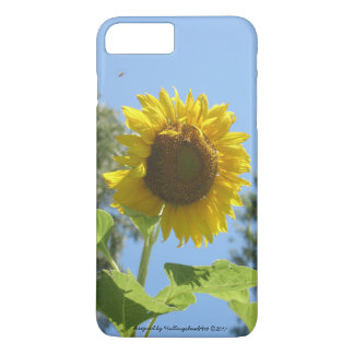 iPhone/iPad Fall, helle Sonnenblume iPhone 8 Plus/7 Plus Hülle