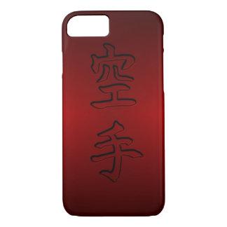 iPhone/iPad Fall: Karate 空手 (chinesisches Kanji) iPhone 8/7 Hülle