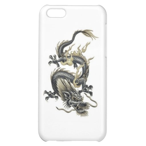 iPhone/Ipad Fall mit Drachen iPhone 5C Schale