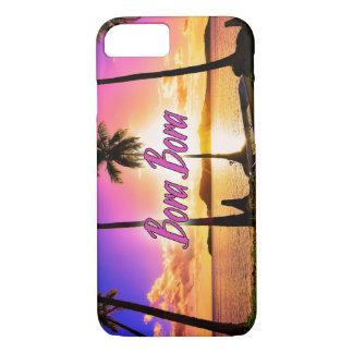 iPhone/Samsung umkleiden: Sonnenuntergang Bora iPhone 8/7 Hülle