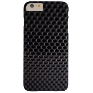 iPhone: Schwarzes MetallLautsprecher-Grill-Netz Barely There iPhone 6 Plus Hülle