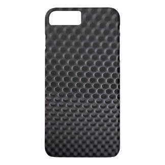 iPhone: Schwarzes MetallLautsprecher-Grill-Netz iPhone 8 Plus/7 Plus Hülle