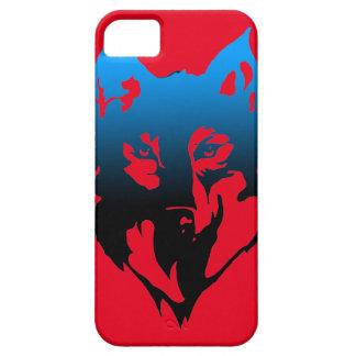 iphone Se-Kasten mit Wolf auf ihm Schutzhülle Fürs iPhone 5