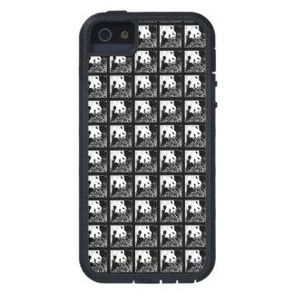 iPhone Se, Pop-Kunst-riesige Pandas B&W des iPhone 5 Schutzhülle