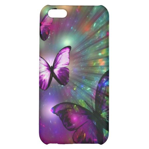iPhone Speck-Kasten: Schmetterlinge für immer iPhone 5C Schale