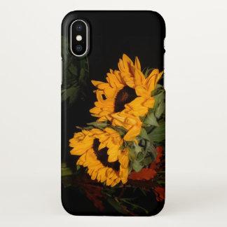 iPhone X Sonnenblume iPhone X Hülle