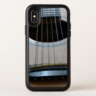 IphoneX otterbox Fall mit Rückseite des OtterBox Symmetry iPhone X Hülle