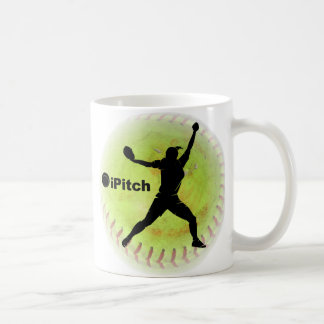 iPitch Fastpitch Softball Kaffeetasse