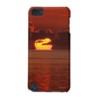 iPod-Kasten - schmelzender Sonnenuntergang iPod Touch 5G Hülle