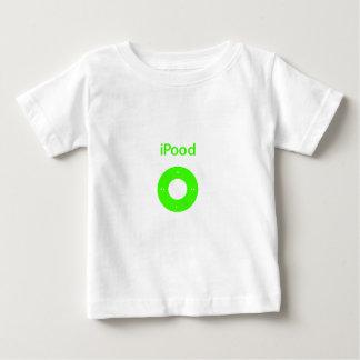 IPod-Parodie Ipood Grün Baby T-shirt