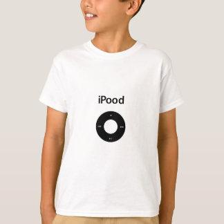 IPod-Parodie Ipood Schwarzes T-Shirt