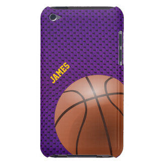 IPod-Touch-Fall des lila Basketballs iPod Touch Cover