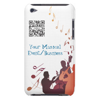 iPod-Touch-Fall-Schablonen-Jazz-Musik Case-Mate iPod Touch Case