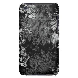 IPod-Touch-Schwarzweiss-Blumen iPod Touch Cover