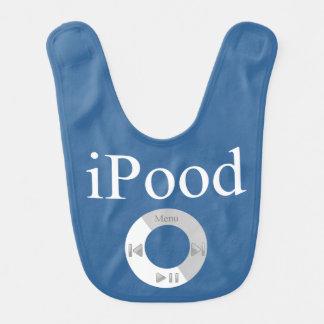iPood Baby-Spaß Babylätzchen