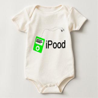 iPood-grün Baby Strampler