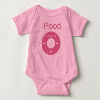 iPood lustige Baby-Shirts Baby Strampler