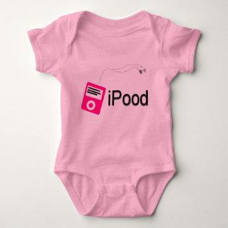 ipood-rosa baby strampler
