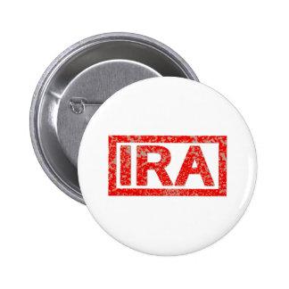 IRA-Briefmarke Runder Button 5,1 Cm
