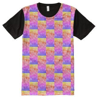 iRainbow die Weltc$wabstreet-kunst entwirft 143 T-Shirt Mit Komplett Bedruckbarer Vorderseite