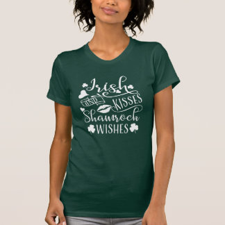 Iren-Küsse und Kleeblatt-Wünsche T-Shirt