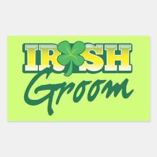 Iren pflegen sich von den fantastischen Iren Rechteckiger Aufkleber