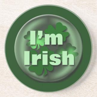 Iren-St Patrick Tagesgeschenke Sandstein Untersetzer