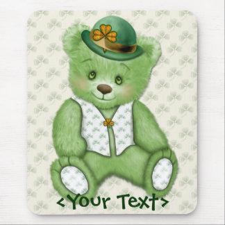 Iren Teddybear - Grün Mousepad