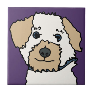 Irene der Terrier-HundeCartoon Keramikfliese