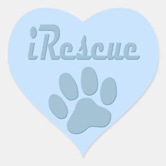 iRescue - HEART - Herz Sticker