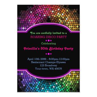 - irgendein Alter, Geburtstagseinladung Party, Karte